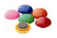 Магниты разноцветные для школьной доски