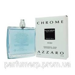 Azzaro Chrome  TESTER 100ml, Мужские, Туалетная Вода TESTER, Интернет-Магазин Parisparfum.com.ua  - Оригинал!!