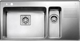 Мойка кухонная TEKA FRAME 1 1/2B 1/2D RHD полированная