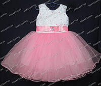 Платье бальное Неженка (роза)       Возраст 3-4г, фото 1