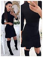 Платье (Фабричный Китай) без пояса! качество люкс ткань плотная машинная вязка резинка (20090)