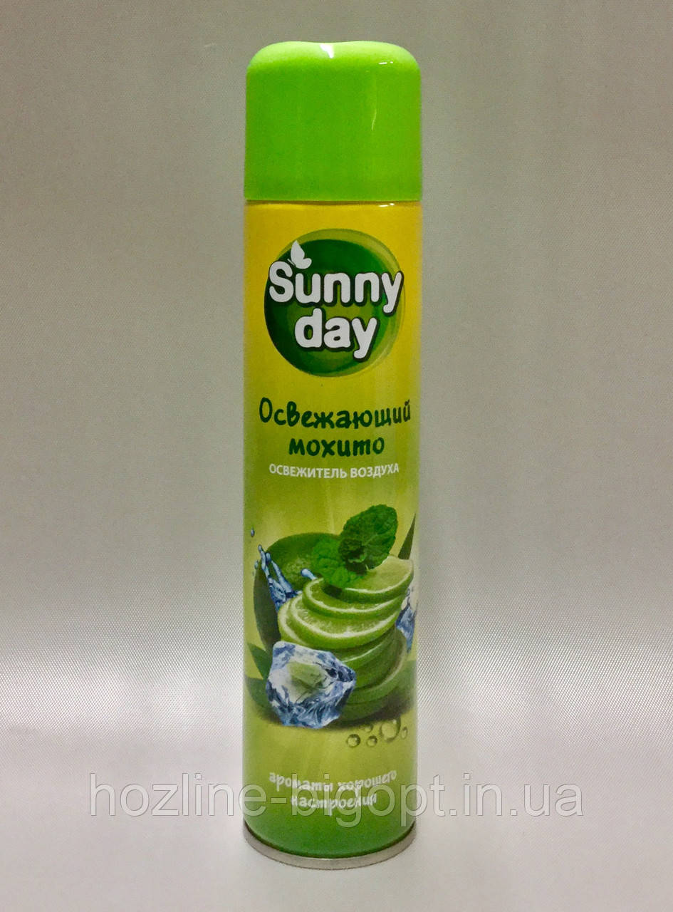Sunny Day Освежитель воздуха  ОСВЕЖАЮЩИЙ МОХИТО