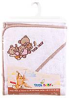 Полотенце Tega Teddy Bear MS-006 80x80 белый