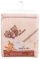 Полотенце Tega 80x80 в кульке TEDDY BEAR бежевый