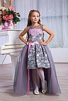 Платье выпускное детское нарядное D961