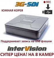 8-канальный  видеорегистратор 3GR-84USB InterVision