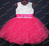 Платье бальное Неженка (малиновое)  3-4 года, фото 1