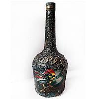 Бутылка для пиратской вечеринки  Сувениры морской тематики Ручная работа