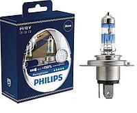 Лампа галогенная 12V H4 P43t 60/55W RACING VISION+150%PHILIPS