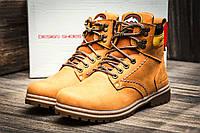 Зимние ботинки унисекс Switzerland Swiss, на меху, песочные, р. 36 37 38 39