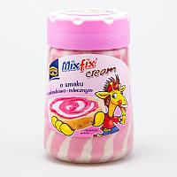 Шоколадная паста клубнично - молочная MixFix cream 400 г.