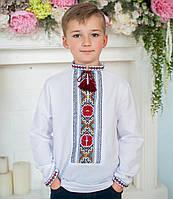 Вишиванки для хлопчиків (домоткане полотно Онікс, ручна вишивка)