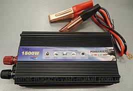 Преобразователь напряжения (инвертор) 12-220V TBE 1500W