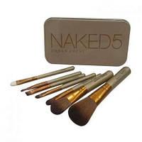 Набор кистей для макияжа Naked5 7 шт.