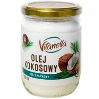 Кокосовое масло рафинированное 500 мл Vitanella, фото 1