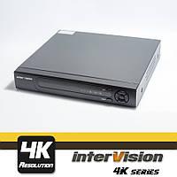 UDR-4K-44 видеорегистратор 4 канальный,  пентатрибридный  Ultra HD видеонаблюдение.