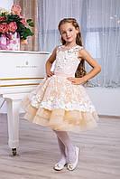 Платье выпускное детское нарядное D955