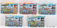 Гараж паркинг детский игровой набор с машинками Y501