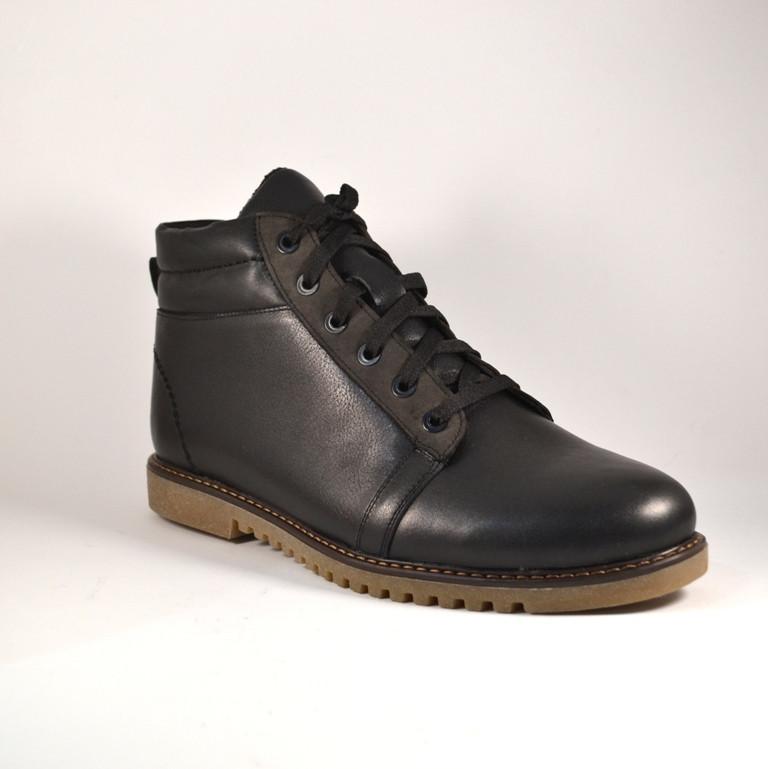 Шкіряні зимові чоловічі черевики Rosso Avangard. Bridge SE Casual Black чорні