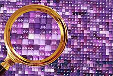 """Набор алмазной вышивки (мозаики) """"Чарующая красота ирисов"""". Художник Beth Hoselton, фото 3"""