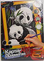 Картина по номерам Большая: Панды KN-01-01 Danko-Toys Украина