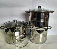 Набір кухонного посуду Rainstahl RS 2303-06 6 пр., фото 1