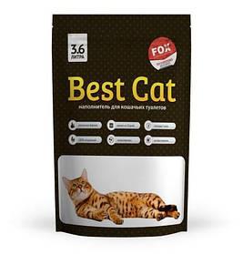 Силикагелевый наполнитель Best Cat White, 3,6л