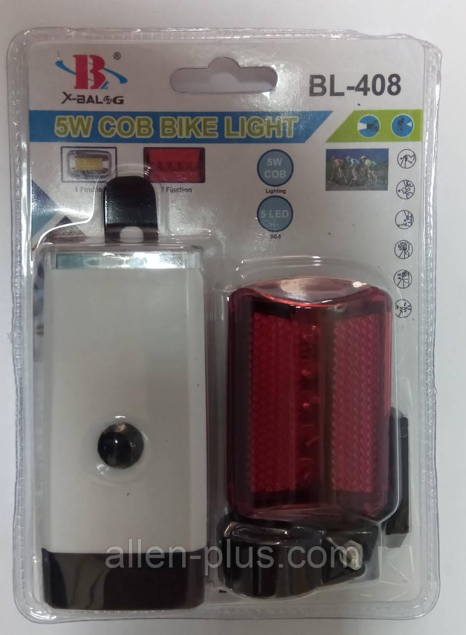 Комплект велосипедных фонарей BL-408