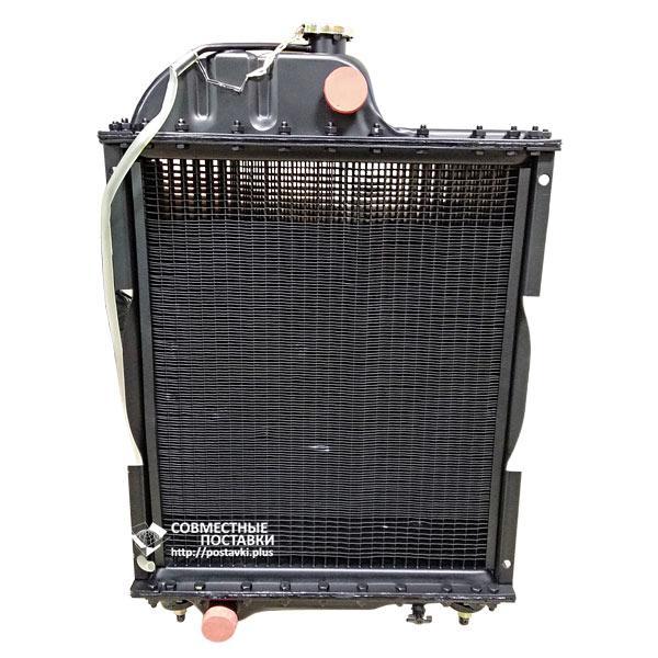 Радиатор МТЗ-80, Д-240, Д-243 4-хрядный (алюминий) 70-1301010 (Польша)