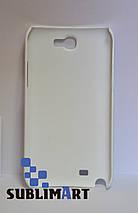 Чехол для 3D сублимационной печати на Samsung Note 2 матовый, фото 2