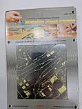 "Металлический 3D пазл  ""Вертолет Huey Helicopter"", Metalic Nano Puzzle, фото 4"