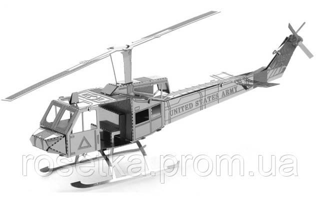 "Металлический 3D пазл  ""Вертолет Huey Helicopter"""