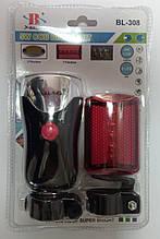 Комплект велосипедных фонарей BL-308