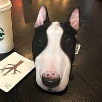 Кошелек собака бультерьер 3D печать
