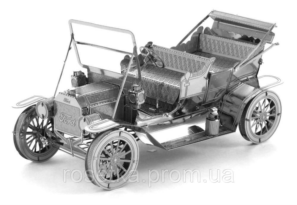 """Металлический конструктор 3D Puzzle, модель """"Автомобиль Ford 1908 Model"""", фото 1"""