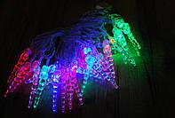 Новогодняя гирлянда с фигурками, сосульки бурульки 28 LED