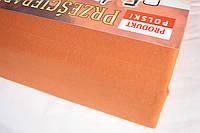Простынь (наматрасник) на резинке из трикотажа коричневая