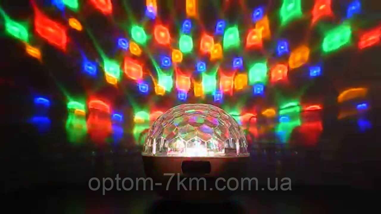 Световой Диско Шар MP3 Discoshar 886 BT 1423VJ