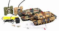 Игрушка радиоуправляемый Танковый бой р/у 558 2 танка; 2 пульта управления; Аккумуляторы;