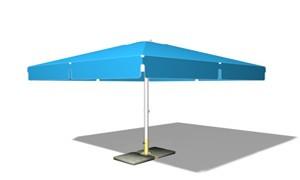 Зонт торговый квадратный 3х3м