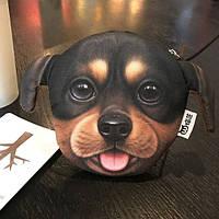 Кошелек собака такса 3D печать