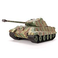 Детские Радиоуправляемые машинки  Танк HENG LONG German King Tiger р/у 3888-1