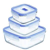 Pure Box Active Набор емкостей для хранения 3 пр. Luminarc N2622