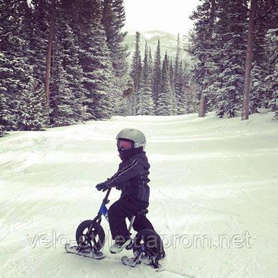 Готовь ЛЫЖИ летом! Преврати свой беговел в снегоход!
