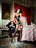 Костюм горничной AT YOUR SERVICE FRENCH MAID COSTUME, S/M, L/XL