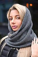 Модный женский шарф снуд