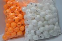 Теннисные шарики мячики для настольного пинг понга 40мм 150шт