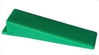 Система выравнивания (укладки) плитки,керамогранита.Аналог DLS клин 100 шт