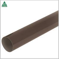 Трубы водосточные Nicoll 100х4000 коричневый