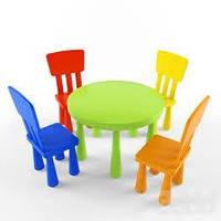 Детские столики со стульчиками